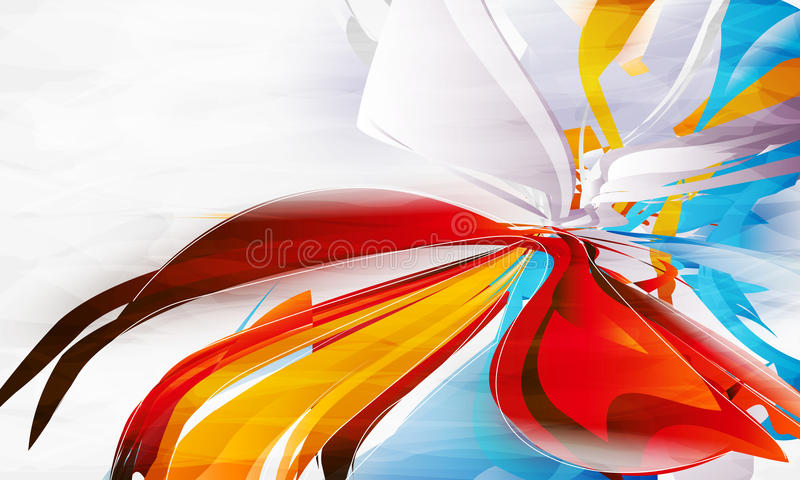 Dessin abstrait illustration stock