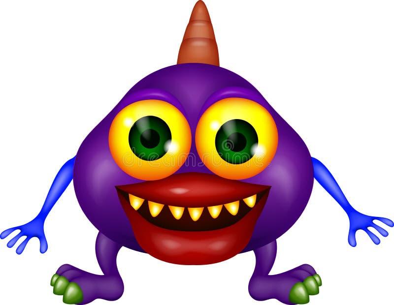 Dessin animé de monstre illustration stock
