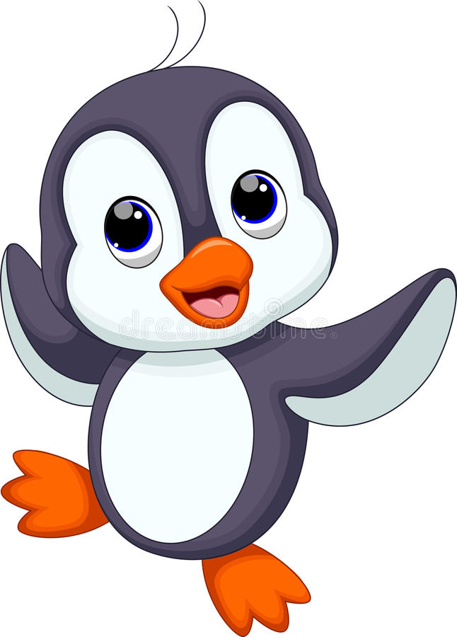 Dessin anim mignon de pingouin illustration stock illustration du pingouin d cembre 48824678 - Dessin anime les pingouins ...
