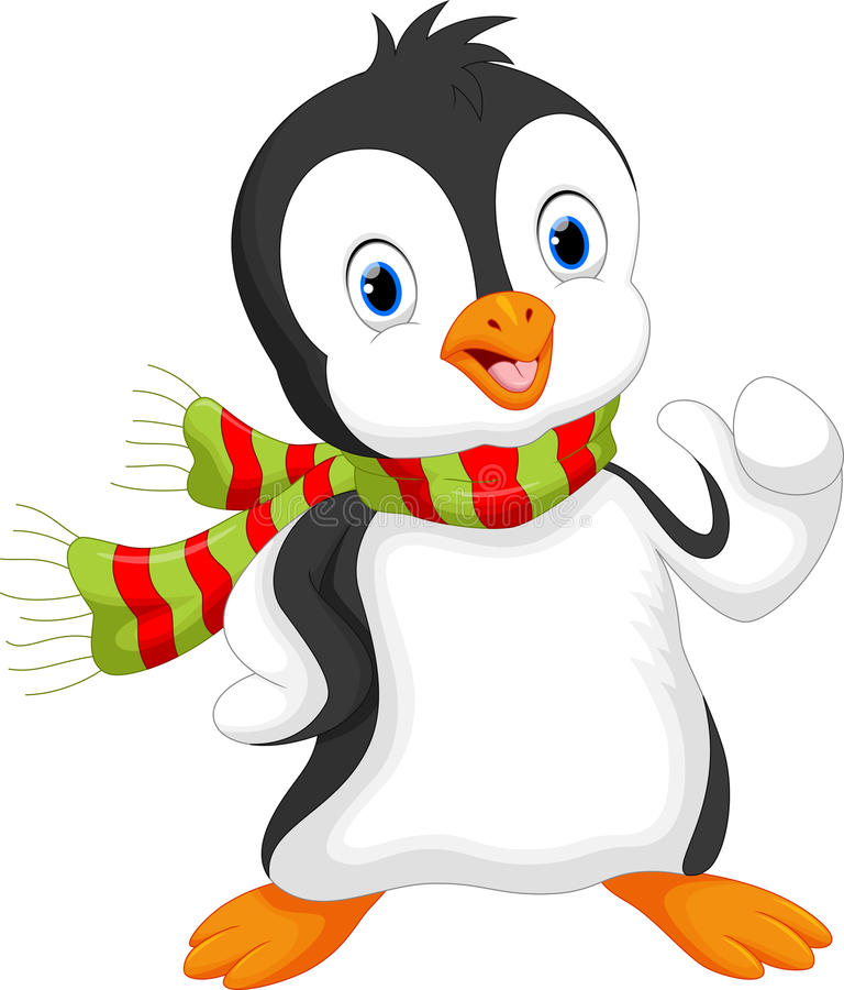 Dessin anim mignon de pingouin illustration stock illustration du c l bration d cembre 62289150 - Dessin anime les pingouins ...