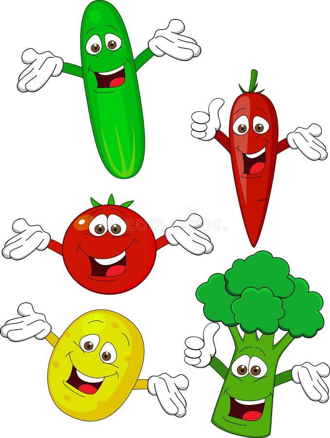 Dessin animé végétal illustration stock