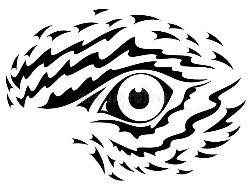 Dessin d 39 oeil d 39 aigle illustration de vecteur - Dessin de aigle ...