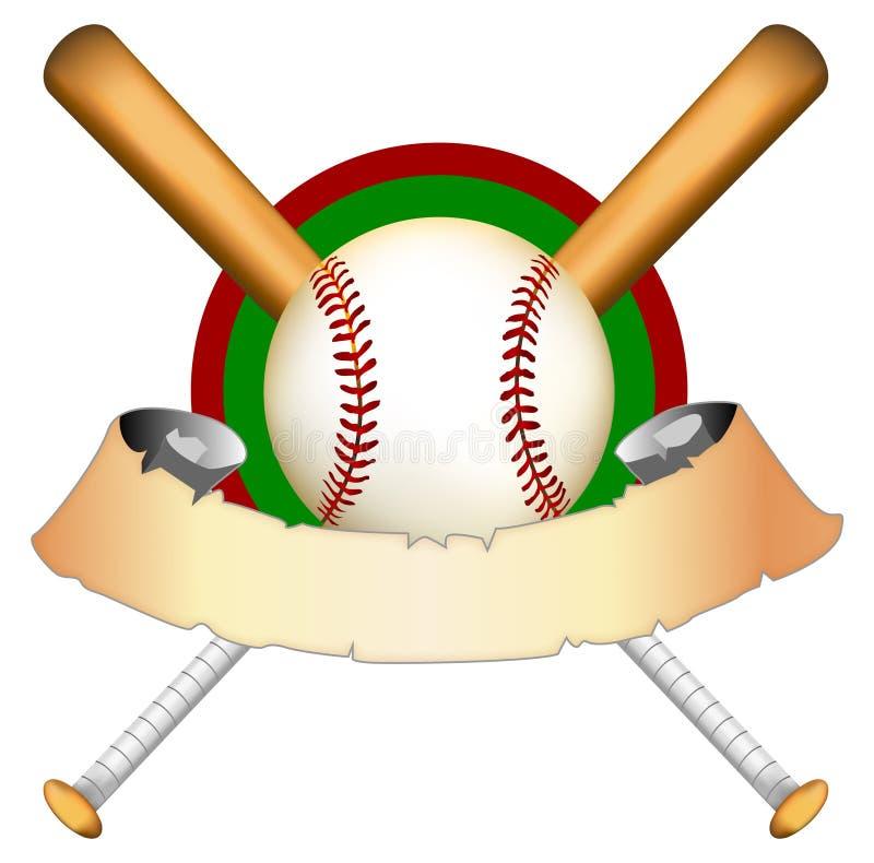 Dessin de base-ball illustration libre de droits