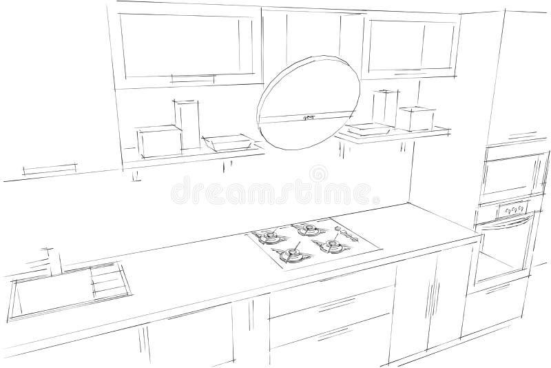 Dessiner cuisine 3d dessin cuisine with dessiner cuisine for Cuisine 3d dessin