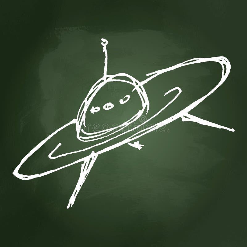 Dessin de croquis d 39 un vaisseau spatial illustration de vecteur image 55388026 - Dessin vaisseau spatial ...