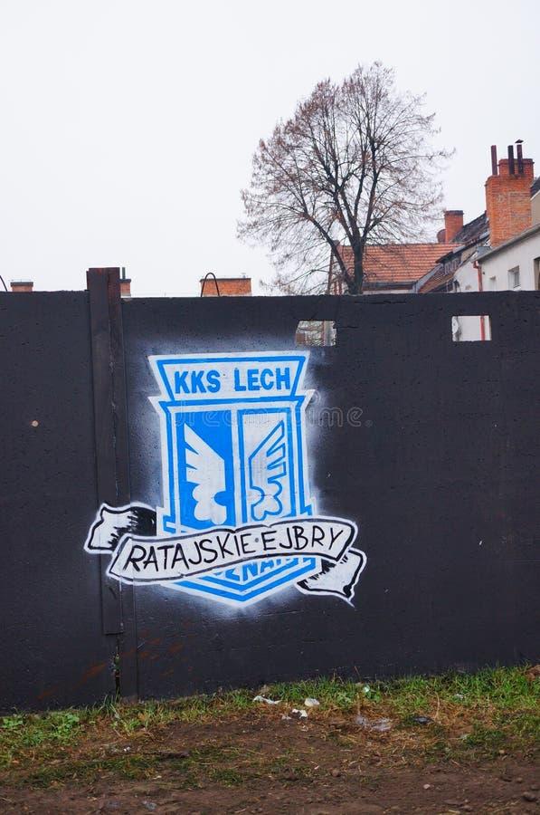 Dessin de Lech Poznan photo stock