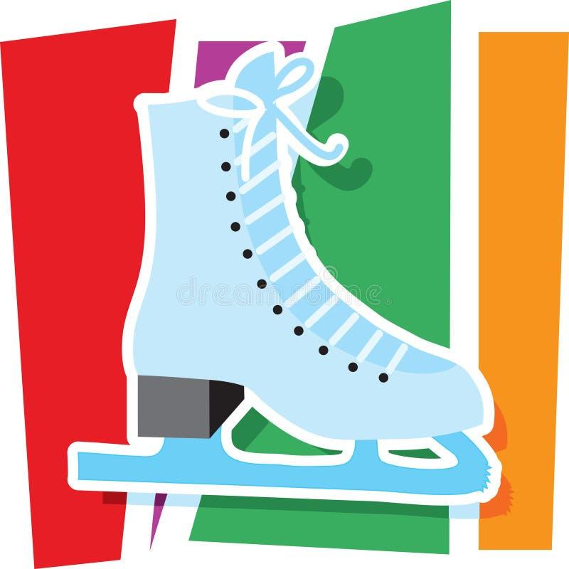 Dessin de patin de glace illustration libre de droits