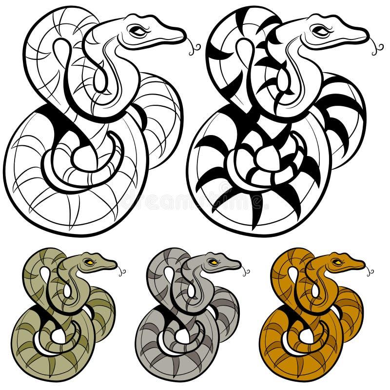 Dessin de serpent illustration de vecteur illustration du - Dessin de serpent ...