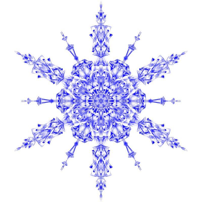 Dessin graphique de symbole de signe d 39 ic ne de flocon de neige flocon de neige bleu d 39 isolement - Gabarit flocon de neige a decouper ...