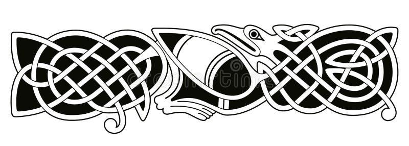 Dessin national celtique illustration stock