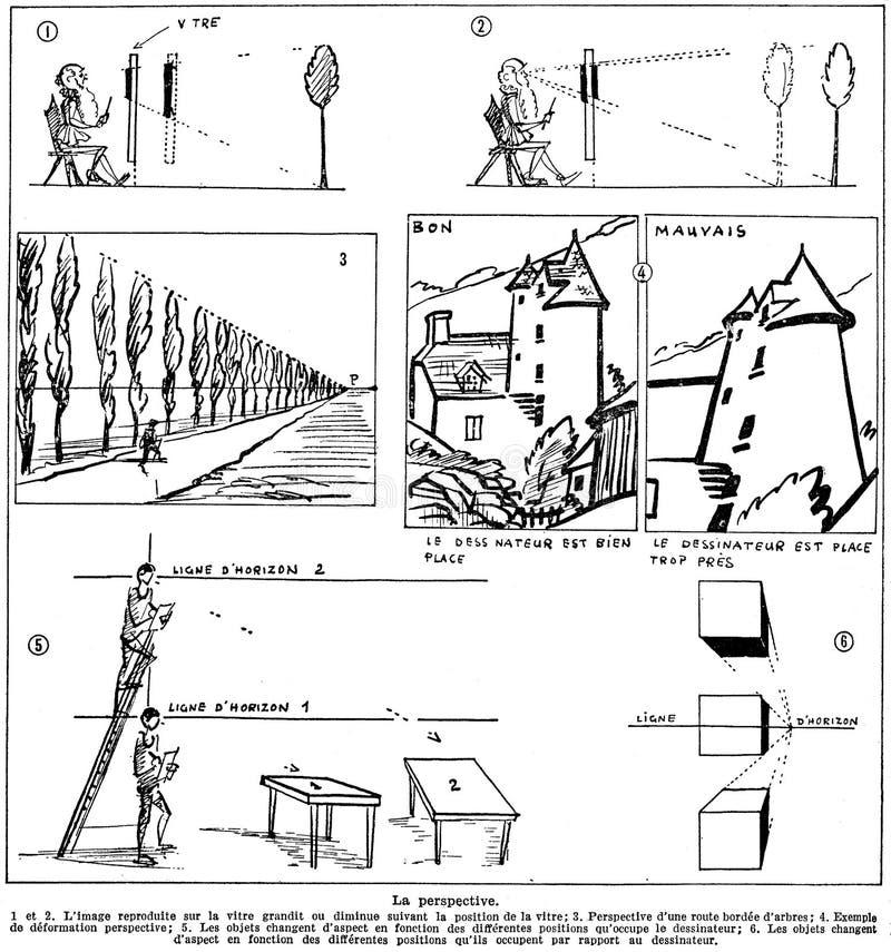 Dessin-perspective-1 Free Public Domain Cc0 Image