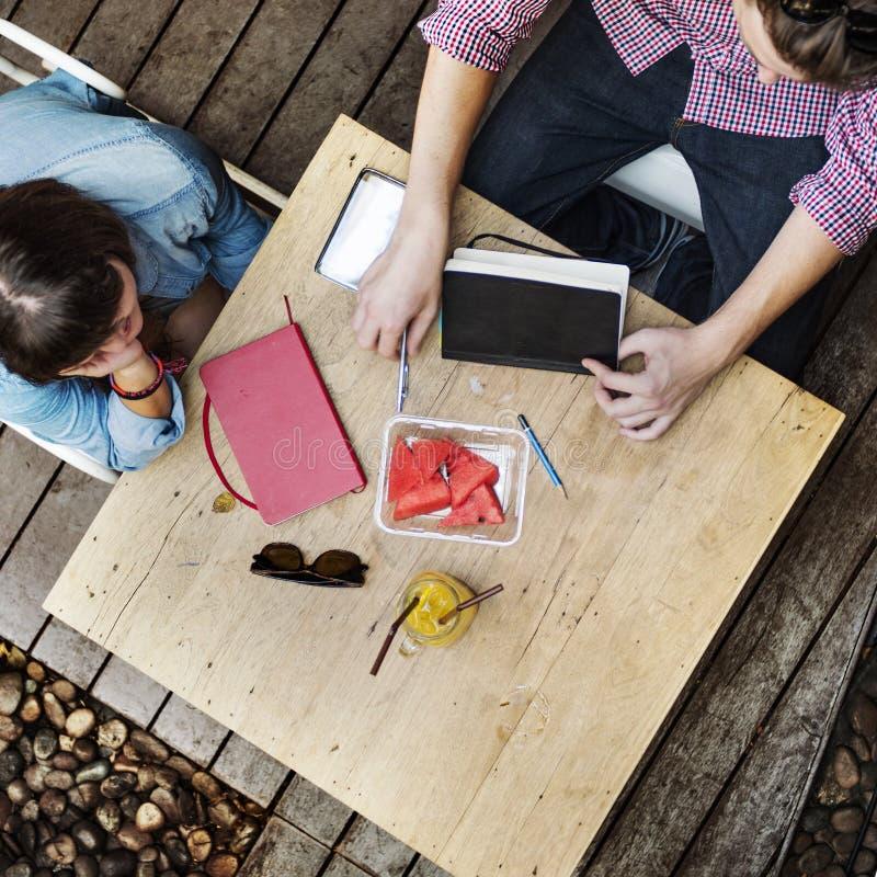 Dessinateur d'intérieurs Meeting Teamwork Concept d'idées de conversation photos libres de droits