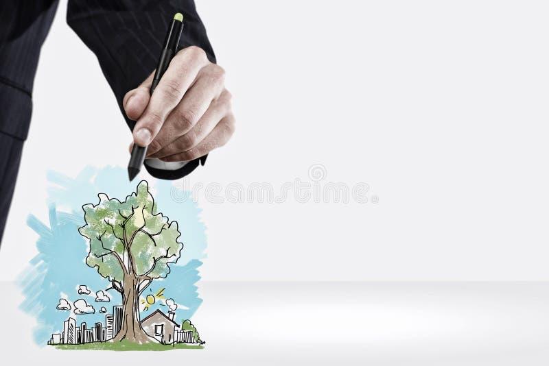 Download Dessinez votre rêve photo stock. Image du industriel - 56481314