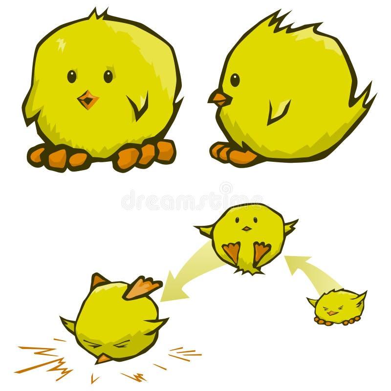 Dessins animés de nana illustration stock
