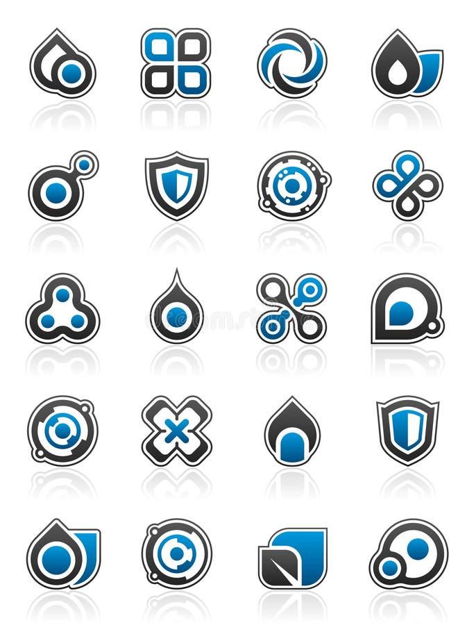 dessins d'éléments de conception illustration de vecteur