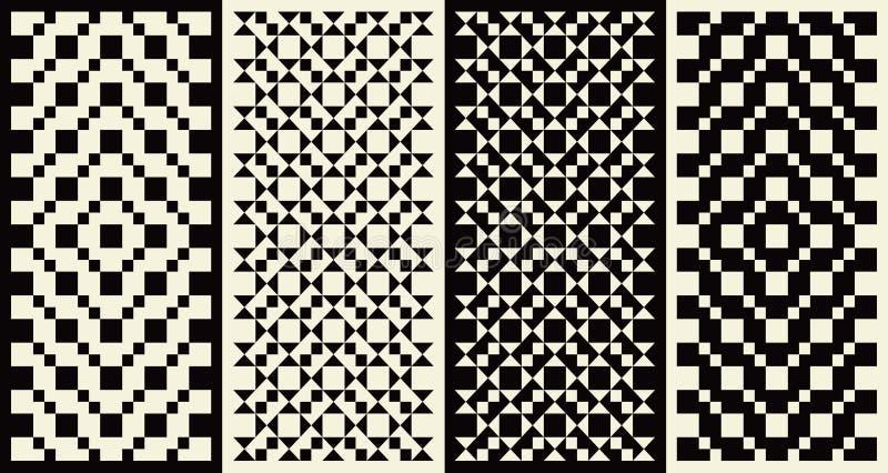 Dessins géométriques illustration libre de droits