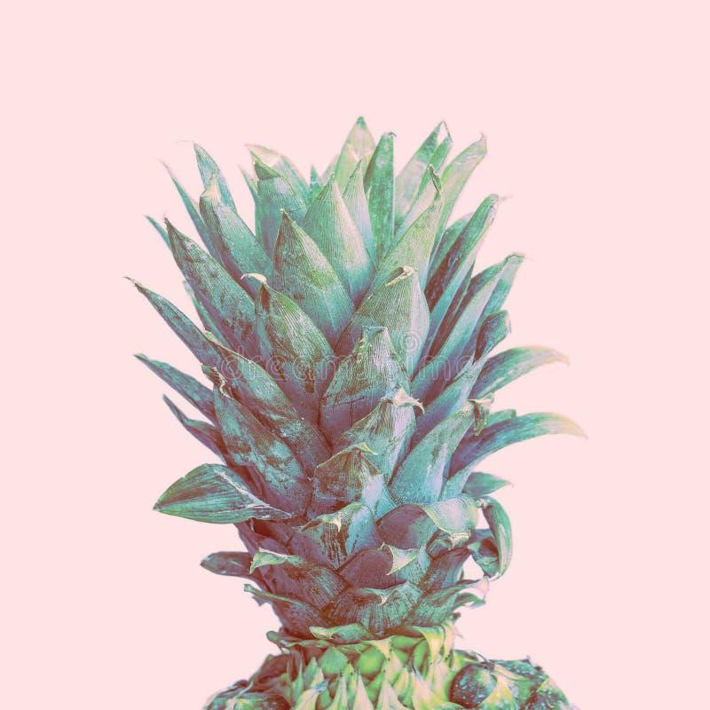 Dessus d'ananas r?tro illustration de vecteur