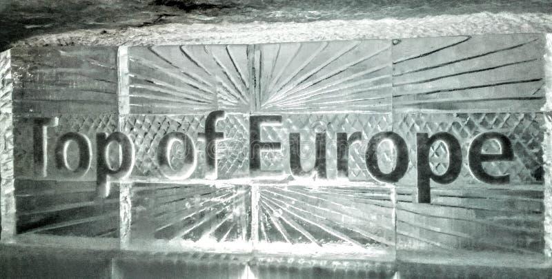 Dessus de l'Europe photographie stock libre de droits