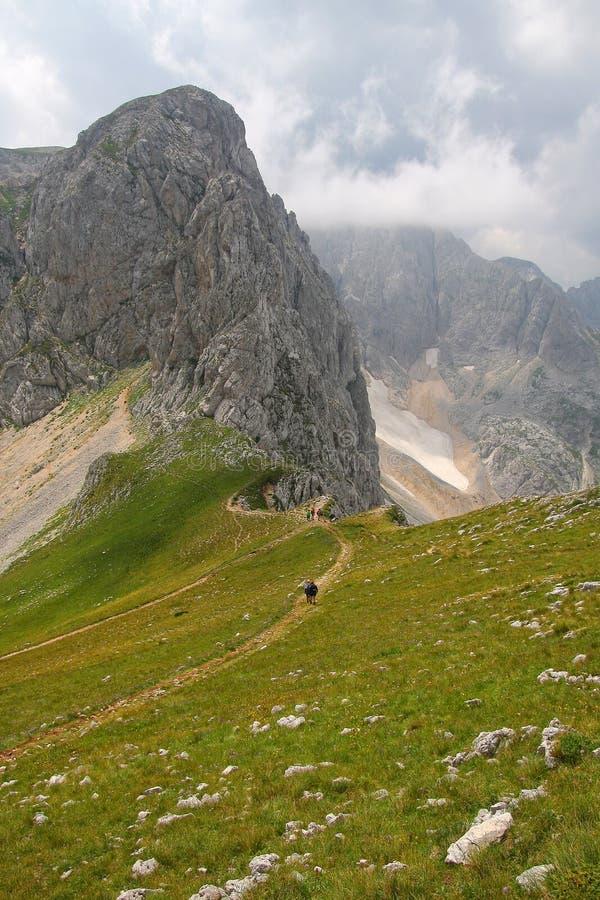 Dessus de la montagne photographie stock libre de droits
