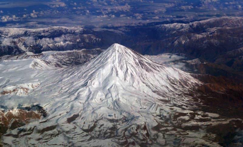 Dessus de la montagne images stock