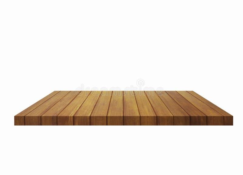Dessus de la table en bois photographie stock