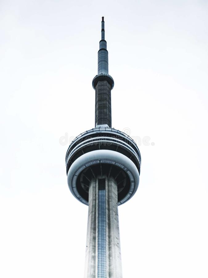 Dessus de la tour de NC à Toronto photographie stock