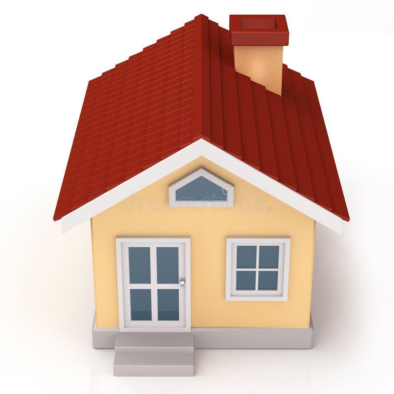 Dessus de Mini House illustration stock