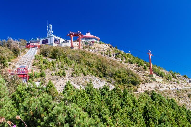 Dessus de montagne de Cerro Otto image stock