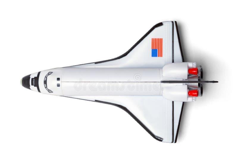 Dessus de navette spatiale image libre de droits