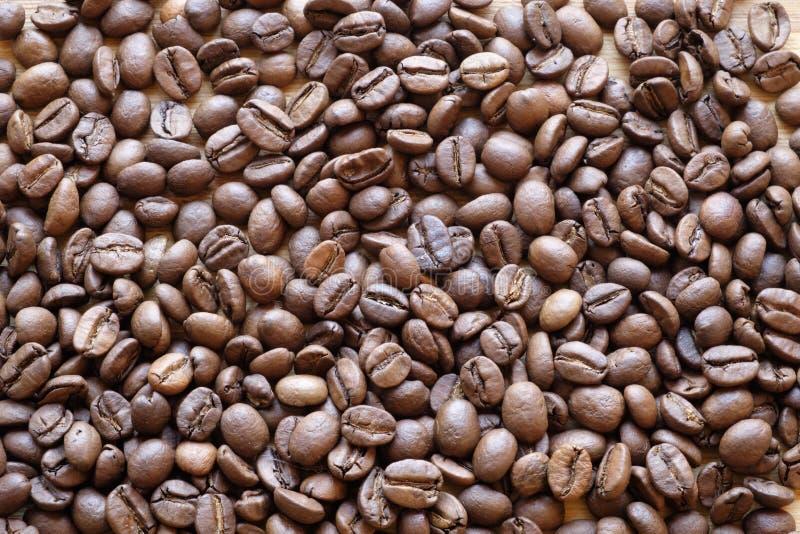 Dessus de paysage de grains de café image libre de droits