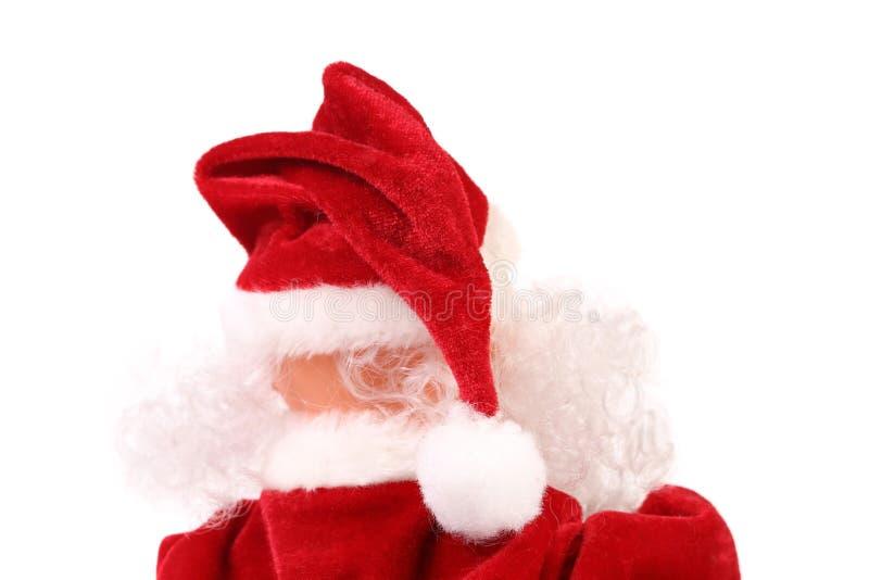 Dessus de Santa Claus. Vue arrière. photographie stock