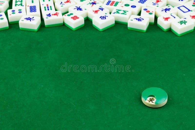 Dessus de Tableau de Mahjong image stock