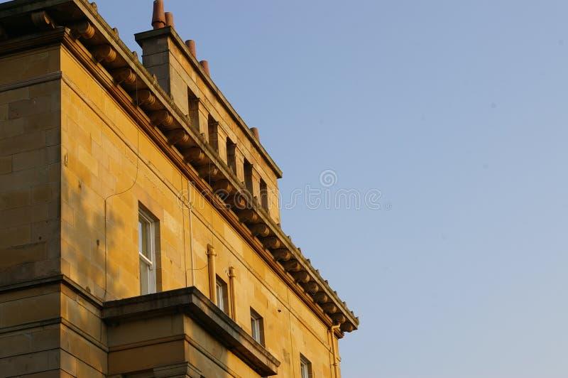 Dessus de toit de Glasgow image libre de droits
