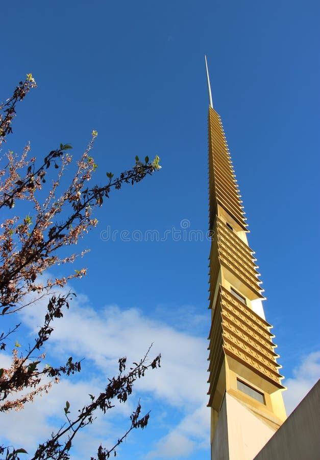 Dessus de toit de Marin County Civic Center photographie stock