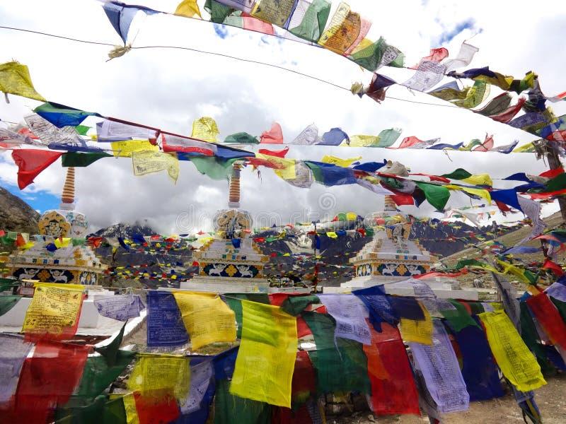 Dessus du passage de Rohtang images stock