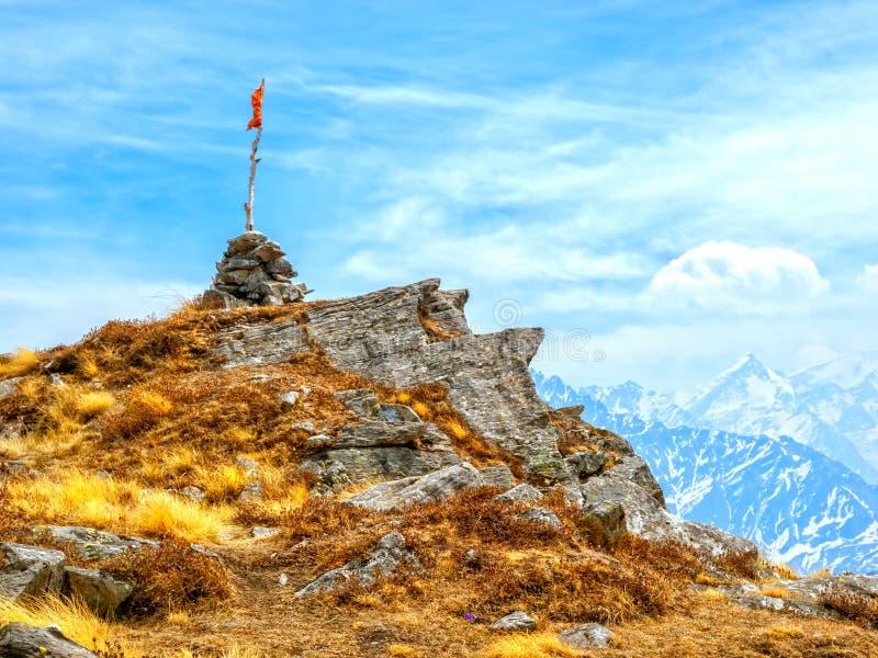 Dessus Himalaya de passage de Kuari image stock