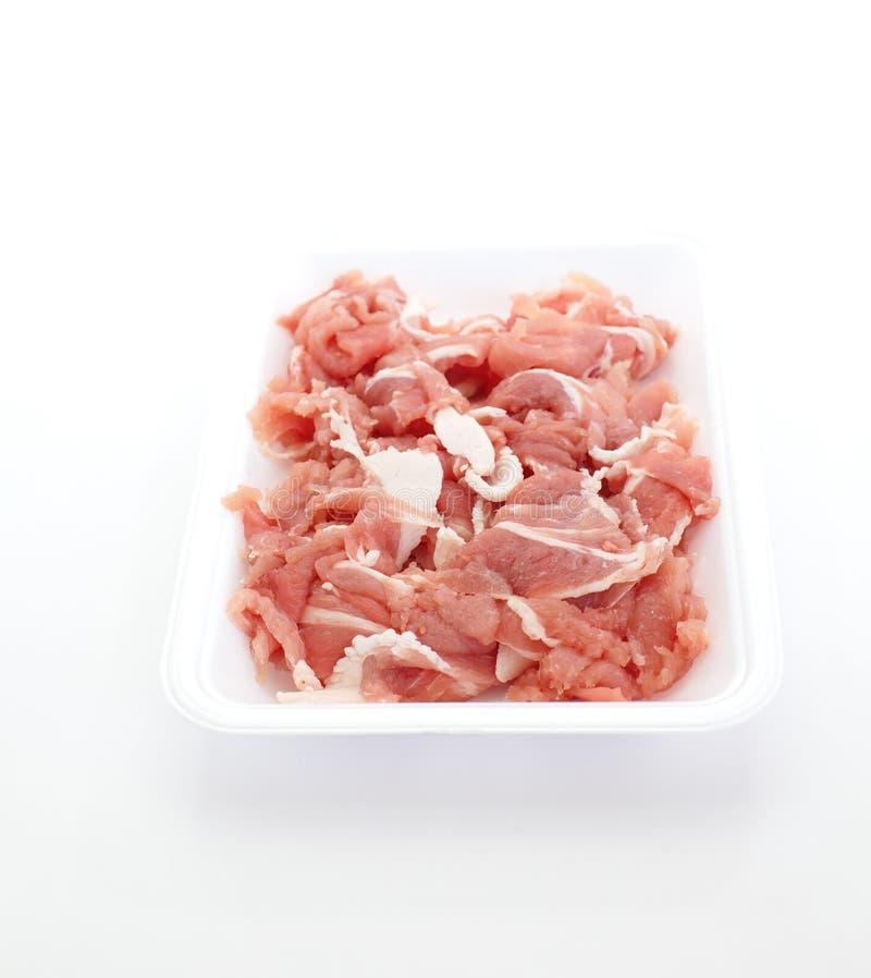 Porc cru photo stock