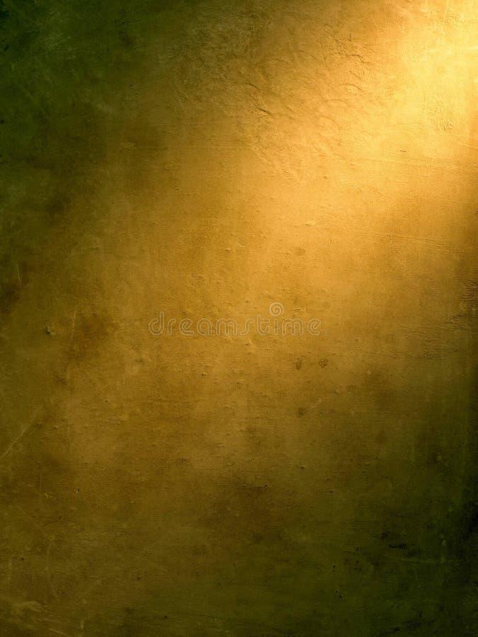 Destaque no fundo do ouro imagem de stock
