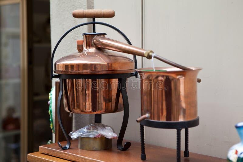 destilador foto de archivo libre de regalías