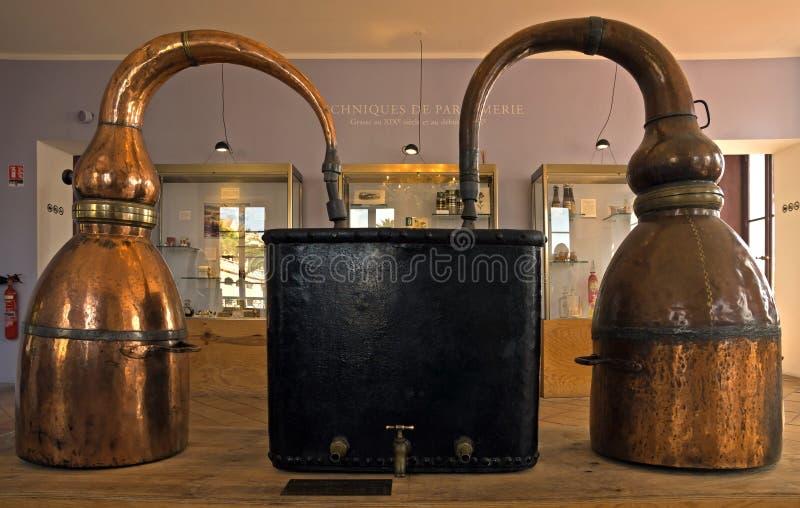 Destilador do perfume de Fragonard fotografia de stock