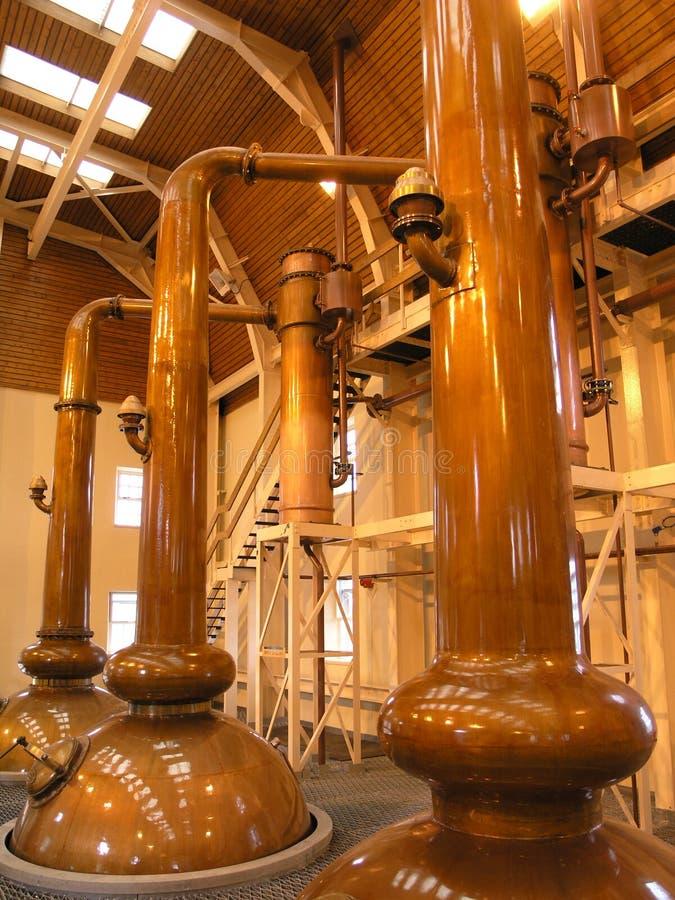 Destiladores do uísque imagem de stock royalty free