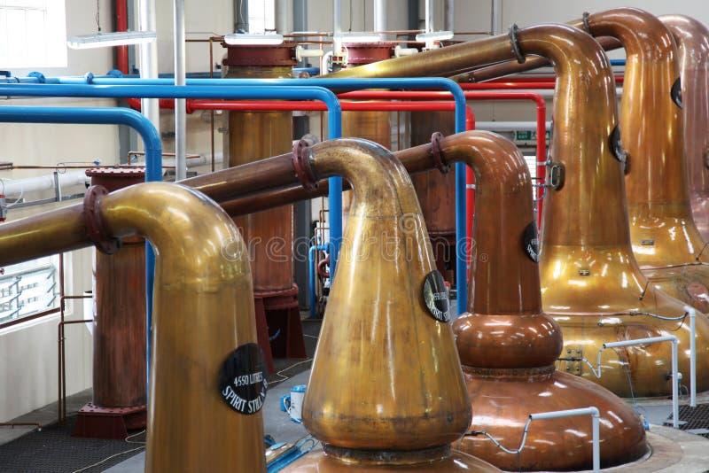Destilaria fotografia de stock