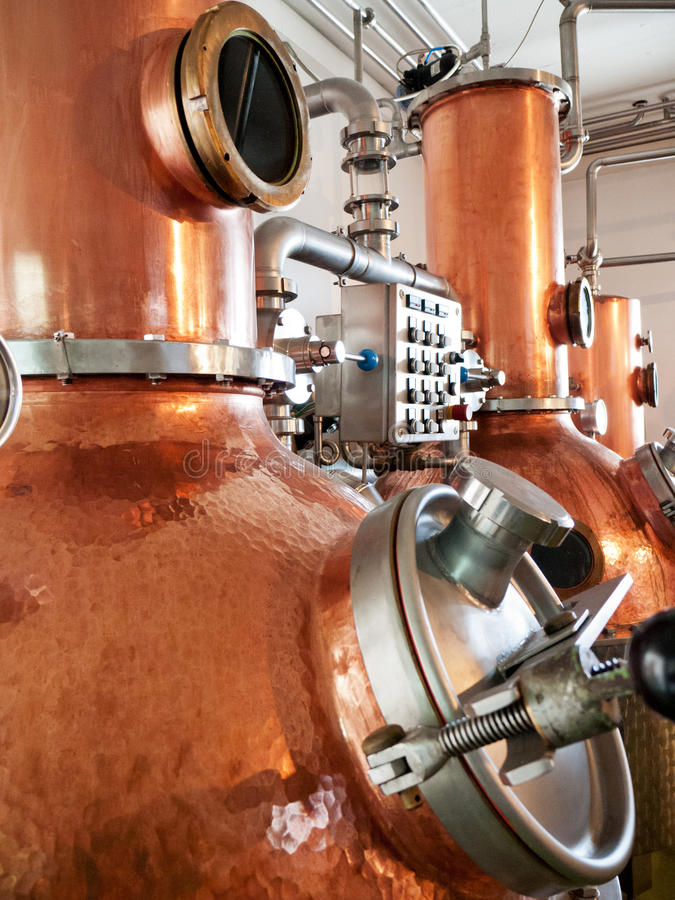 Destilaria imagens de stock