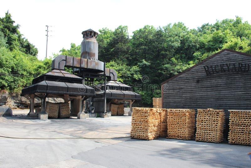 A destilaria de Jack Daniel fotos de stock royalty free