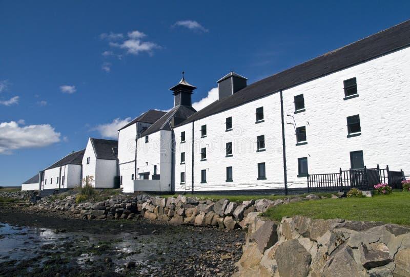Destilaria do uísque em Scotland fotografia de stock royalty free