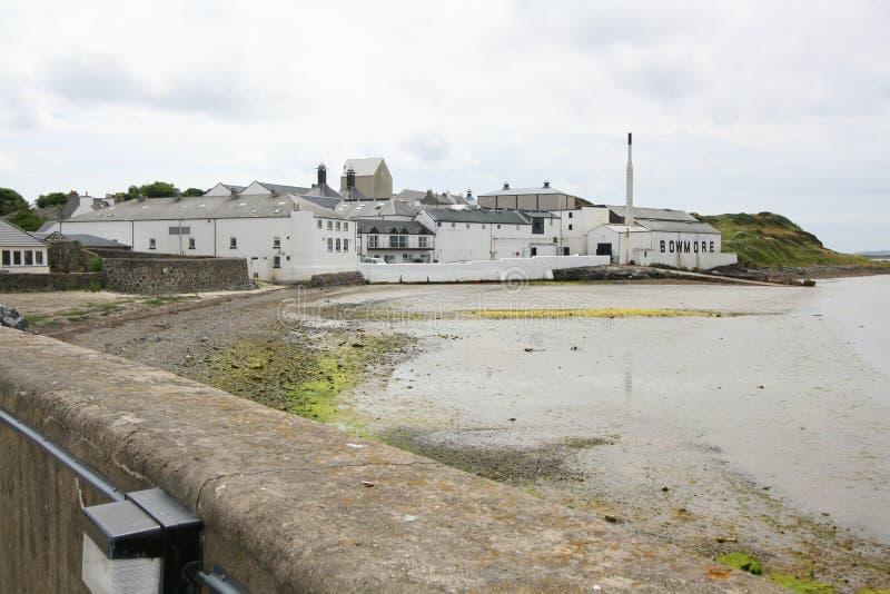 Destilaria do uísque em Scotland fotografia de stock