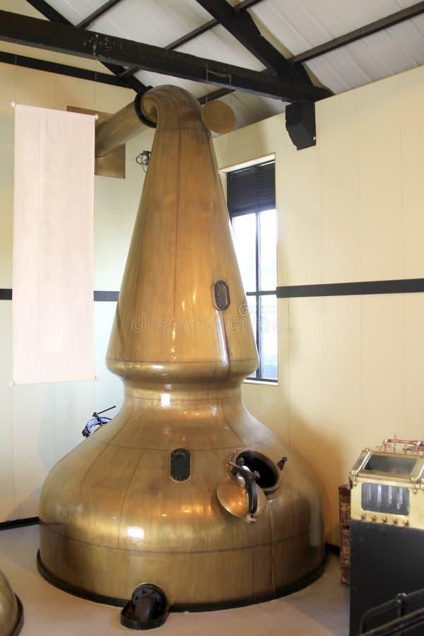 Destilería del whisky fotos de archivo