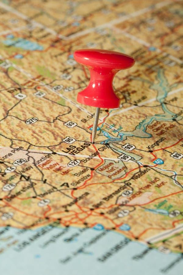 Destinación Las Vegas foto de archivo libre de regalías