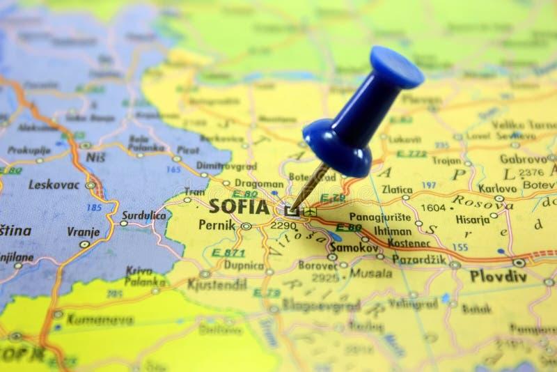 Destinación: Sofía. foto de archivo