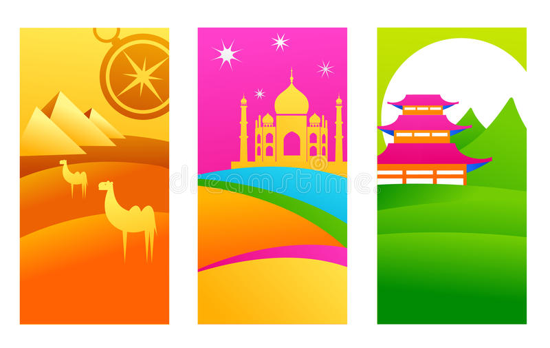 Destinaciones exóticas libre illustration